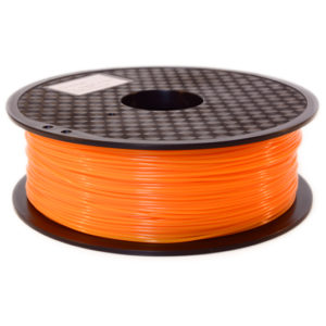 filament imprimante 3d pla orange plastfab